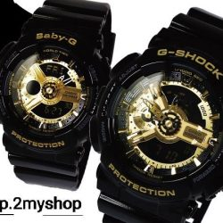 [Yuen Loong Watch Store] EARLY GREAT SINGAPORE SALE G SHOCK AND BABY G BLACK GOLD COLLECTION LIMITED SET OFFER @@@@@@ $288 ONLY AVAILABLE FOR PRE-