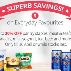 Redmart: Save Up to 30% on Everyday Favourites!