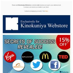 [Books Kinokuniya]  Limited Time Offer! 15% Off* Featured Titles Exclusively On Singapore Webstore.