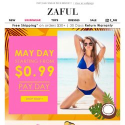 [Zaful] NEW Summer Trending Starts From 0.99 USD!!