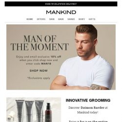 [Mankind] Man of the Moment