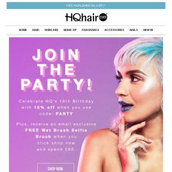 [HQhair] JOIN THE PARTY!