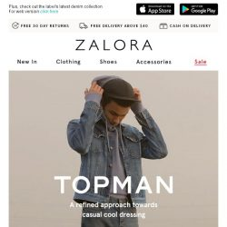 [Zalora] Nail the casual cool look with TOPMAN's latest drops