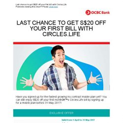 [OCBC]  OCBC Cards - Get more out of life with Circles.Life!