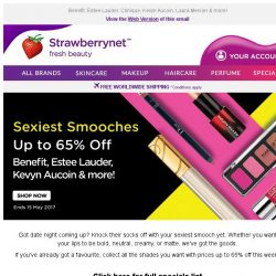 [StrawberryNet] Pucker Up 💋 Sexiest Smooches Up to 65% Off