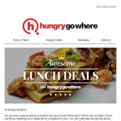 [HungryGoWhere] Awesome Deals for your Lunch Hour Rush
