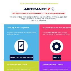 [AIRFRANCE] In 2017, put all Air France in your pocket!