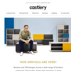 [Castlery] They're here! New Arrivals to suit your interior needs.