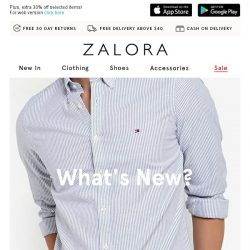 [Zalora] We're On The Hunt For NEW