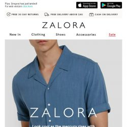 [Zalora] Get Ready For Summer With These ZALORA Drops