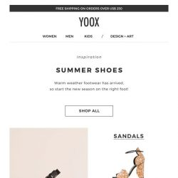 [Yoox] Your guide to summer shoes