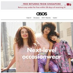 [ASOS] Elevate your occasionwear