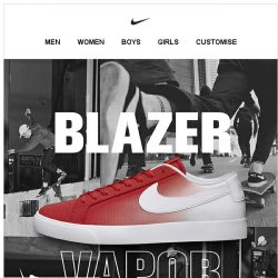 [Nike] SB Blazer: Lighter, Faster and Unmistakable