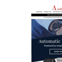 [Ashford] Automatic Watches - Upgrade Your Style