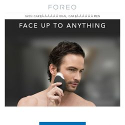 [Foreo] Stop Giving Your Face a Hard Time