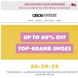[ASOS] Up to 60% off top-brand shoes – heel, yeah!