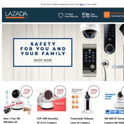 [Lazada] How To Increase Your Security At Home?