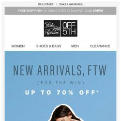 [Saks OFF 5th] JUST IN: Rebecca Taylor, See by Chloé & More