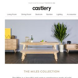 [Castlery] Modern Heritage - The Miles Collection