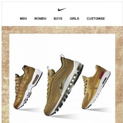 [Nike] Introducing the Air Max Gold Pack