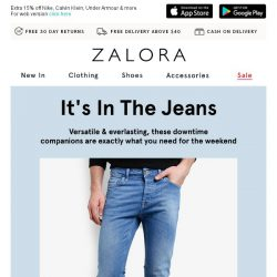 [Zalora] Raw & Refined: Pick Your Next Fave Jeans Today!