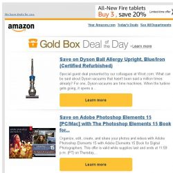 [Amazon] Save on Dyson Ball Allergy Upright, Blue/Iron...