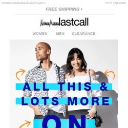 [Last Call] ALL THIS & lots more >> on sale NOW