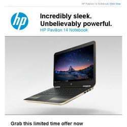 [HP Singapore]  The Sleek, Light and Powerful Pav AL108TX@$1,099