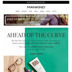 [Mankind] Ahead of the Curve