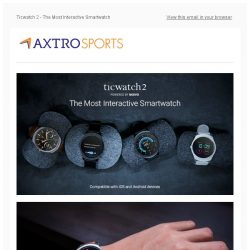 [AXTRO Sports] TicWatch 2 - Beautiful, Powerful, Playful