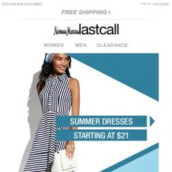 [Last Call] Wear-now dresses starting at $21 & more can't-miss deals!