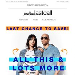 [Last Call] FINAL HOURS: all this & LOTS more