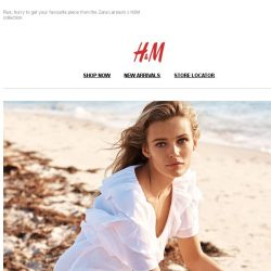 [H&M] The key to the perfect summer wardrobe