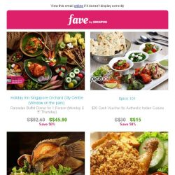 [Groupon] Check out these Ramadan food steals we've picked out!