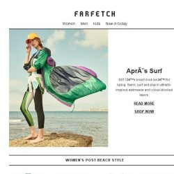 [Farfetch] Post-beach chic | Alexander Wang, MSGM & more