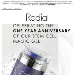 [RODIAL] Enjoy An Exclusive 25% Off Stem Cell Collection
