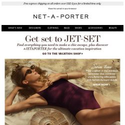 [NET-A-PORTER] Going somewhere?