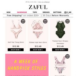 [Zaful] 12 USD OFF your order! Right Now!