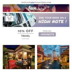 [Groupon] Wake up in Bangkok, Halong, or KL with 10% OFF travel deals inside!