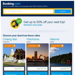 [Booking.com] With 56 deals to choose from, saving on your stay is easy