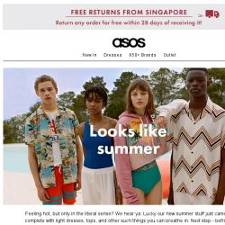 [ASOS] You're gonna be roasting in that...