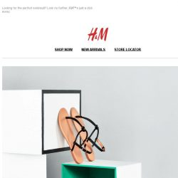 [H&M] Step into summer in sleek sandals