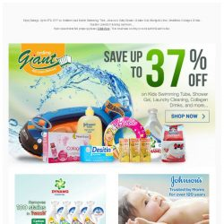 [Giant] SPLASH! Kids Swimming Tube on Discount! Check it out!