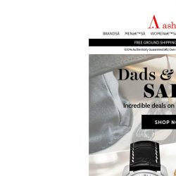 [Ashford] Sale For Dads. Sale For Grads.