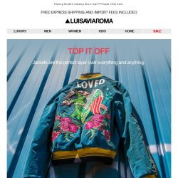 [LUISAVIAROMA] Jacket Inspiration: Gucci, Off White, Givenchy and more…