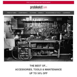 [probikekit] Up to 50% off Accessories, Tools & Maintenance