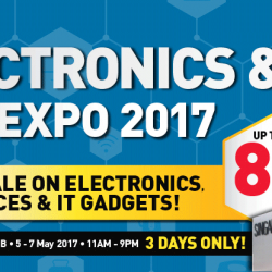 Singapore Expo: Electronics & IT May Expo 2017