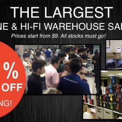 Hwee Seng Electronics: Warehouse Sale Up to 85% OFF Beats, Onkyo, Paradigm, Monster & More