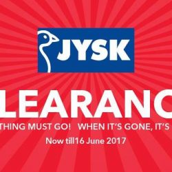 JYSK: Renovation Clearance Sale Up to 80% OFF Storewide