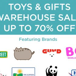 Natures Collection: Toys & Gifts Warehouse Sale with Up to 70% OFF Toys from Pusheen, Boo the Dog, Sesame Street, Uglydoll & More!